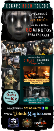 Real Game juegos Escape Room Toledo